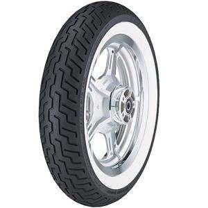 Dunlop D404 Whitewall Front Tire   140/80H 17