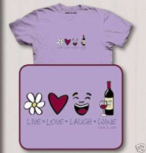 Wine Is Life LIVE LOVE LAUGH WINE The Mountain T shirt