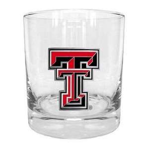 exas ech Red Raiders NCAA Rocks Glass Spors & Oudoors