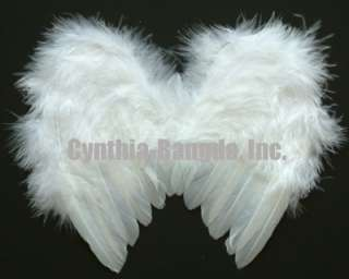 White Feather Angel fashion wing costume doll/pet/new born (WM2XS