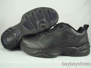 nike air monarch iv 4 wide 4e black mens all sizes