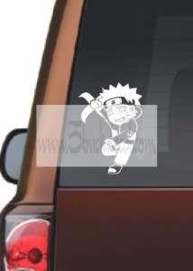 NARUTO ANIME   CHIBI SET 1 car window sticker decal
