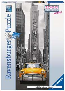 Ravensburger jigsaw puzzle 1000 pcs Panorama   New York Taxi 151196