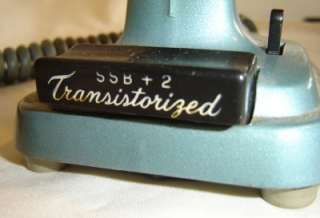 SSB +2 Transistorized Microphone Desk Base Station CB Ham Radio