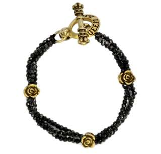 King QUEEN Baby studio Spinel 925 18k vermeil Bracelet