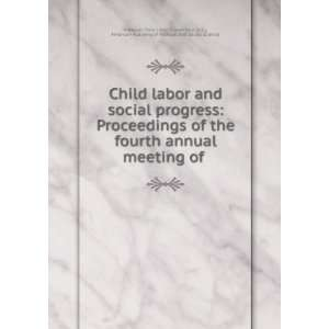Academy of Political and Social Science National Child Labor Committee