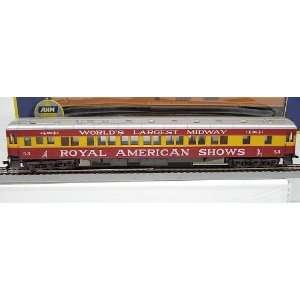 AHM HO Scale Royal American Shows Pullman Coach #53 Toys