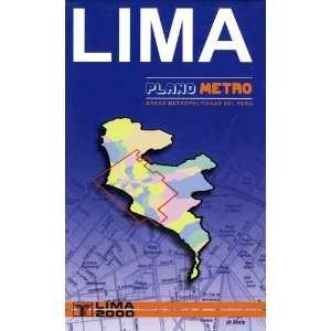 Plano Metro Lima (Areas Metropolitanas del Peru