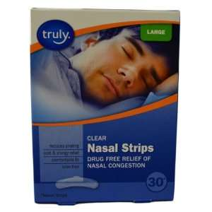 Large Drug Free Nasal Strips Helps Breathing/Snoring