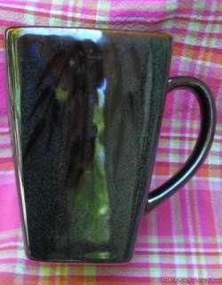 KANE Stoneware Coffee Mug Collectible Cup Bamboo Glaze