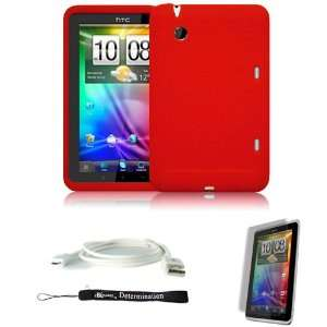 RED Cover Protective Slim Durable Silicon Skin Case for