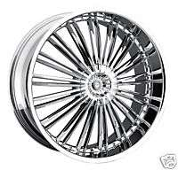 24 Chrome Rims Forged Wheels Chevrolet GMC Truck 6 Lug 6x5.5 Escalade