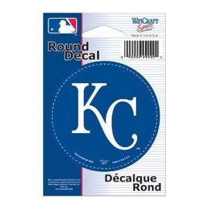 Kansas City Royals Vinyl decal 3 x 3