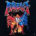 ATHEIST cd cvr PIECE OF TIME ELEMENTS Collage Official SHIRT MED new