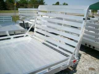 12 Cargo Aluminum Utility Trailer aluma 7712 motorcycle trailer NEW