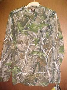 WHITEWATER Clothing Sale,HWG021 MED HARDWOODS CAMO LONG SLEEVE T SHIRT