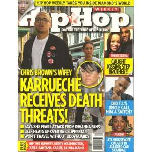 Hip Hop Weekly 2012 Volume 7 Issue # 7 Cynthia Horner Books
