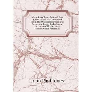 His Services Under Prince Potemkin John Paul Jones  Books