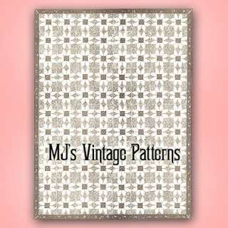 Vintage Mail Order Quilt Pattern ~ Daisy, Flower