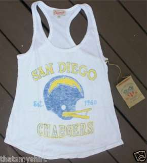 New Authentic Junk Food San Diego Chargers Tank Top Size Small