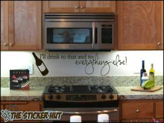 to that and  Kitchen Wall Stickers Decals Quotes 447