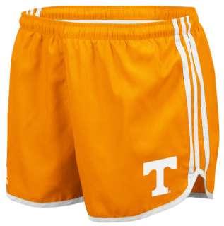 Tennessee Volunteers adidas Orange Womens 3 Stripe Princess Shorts