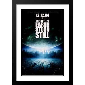 The Day the Earth Stood Still 32x45 Framed and Double Matted Movie