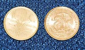 1965 Mexico 1 Centavo Mexican Coin   Rare Coin Low Mintage