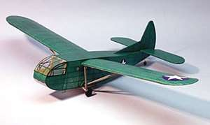 Waco CG 4A #321 Dumas Balsa Wood Model Airplane Kit