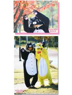 POP STAR SHINee SAZAC Kigurumi Animal Costume Character Pajama Black