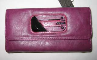 GUESS ALINA Logo Shoulder Bag Purse Handbag Satchel Sac Wallet Synth