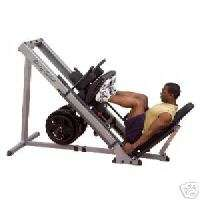 Body Solid Leg Press Hack Squat Hip Sled GLPH1100 NEW