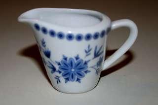 Bavarian Blue Mini Creamer Bavaria West Germany Blue and White