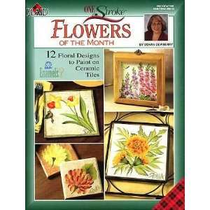 of the Month Tile Book By Donna Dewberry Donna Dewberry Books