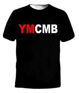 NEW YMCMB T Shirt Young Money Lil Wayne Weezy T Shirt