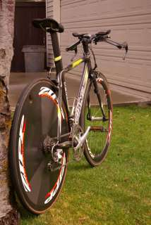Trinity Time Trial Bike  Zip Weaponry Wheelset Dura Ace Ultegra
