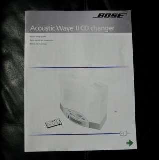 Bose Acoustic Wave Radio II Multi Disc 5 CD Changer