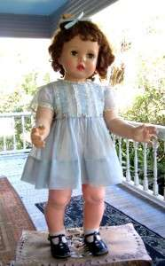 Vintage Penny Playpal Doll 32 Lifesize 2 Yr Old Pattis Little Sister