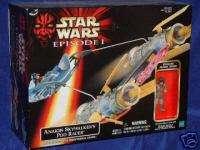Star Wars Episode 1 Anakin Skywalker Pod Racer w Exclus