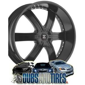 26 Inch 26x9.5 2 Crave wheels No.4 Chrome wheels rims Automotive