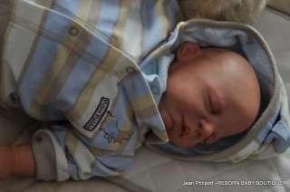 REBORN BABY BRANDON ~PAT MOULTON ~ ADORABLE BABY BOY