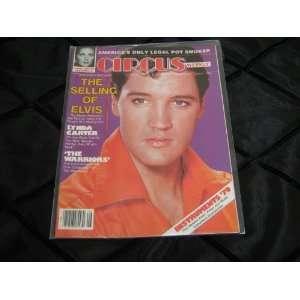 Circus Magazine The Selling of Elvis (ELVIS , Lynda Carter