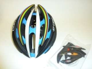 2011 Giro Aeon bicycle helmet Black WCS Medium M NEW
