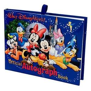 Walt Disney World Official Autograph Book Mickey Gang