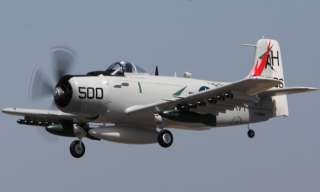 63 Avión eléctrico grande avión de Skyraider R/C RC con Motor/ESC