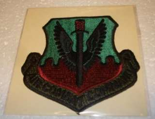 AIR COMBAT COMMAND PATCH LANGLEY AFB VIRGINIA $7 PPD
