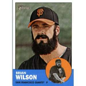 2012 Topps Heritage 325 Brian Wilson   San Francisco Giants (ENCASED