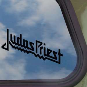 Priest Black Decal Metal Rock Band Window Sticker