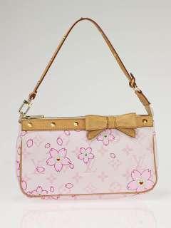 Louis Vuitton Limited Edition Pink Cherry Blossom Accessories Pochette