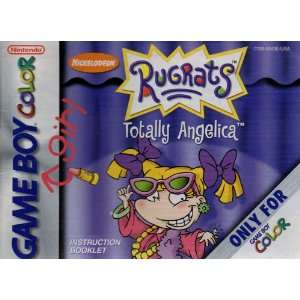 Rugrats   Totally Angelica GBC Instruction Booklet (Game